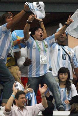 Diego bei der WM